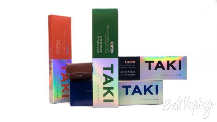 Обзор одноразовых электронных сигарет XIAOMI TAKI