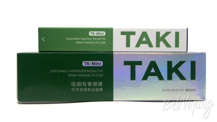XIAOMI TAKI - вкус MUNG BEAN ICE (азиатская фасоль или маш)