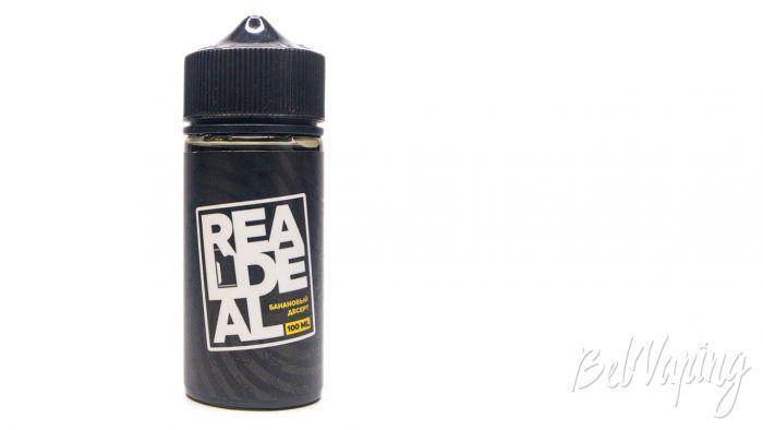 Жидкости REAL DEAL - вкус БАНАНОВЫЙ ДЕСЕРТ