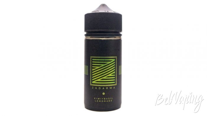 Жидкости ZADARMA - вкус KIWI + BASIL LEMONADE