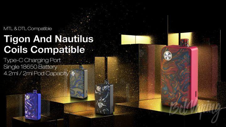Aspire Mulus Kit. Первый взгляд