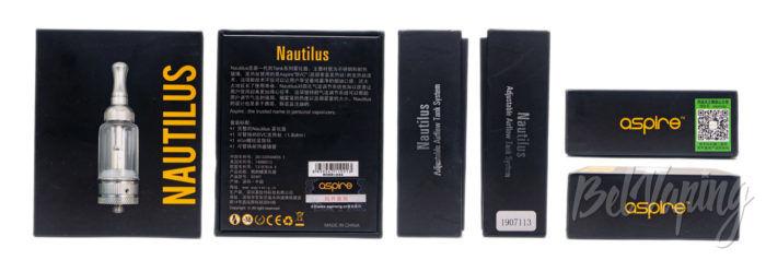 Aspire NAUTILUS BVC Tank - упаковка
