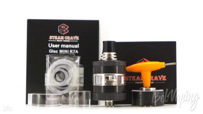 Комплектация Glaz Mini MTL RTA