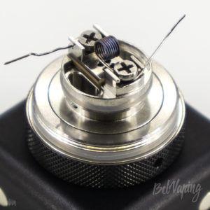 Установка спирали в Glaz Mini MTL RTA