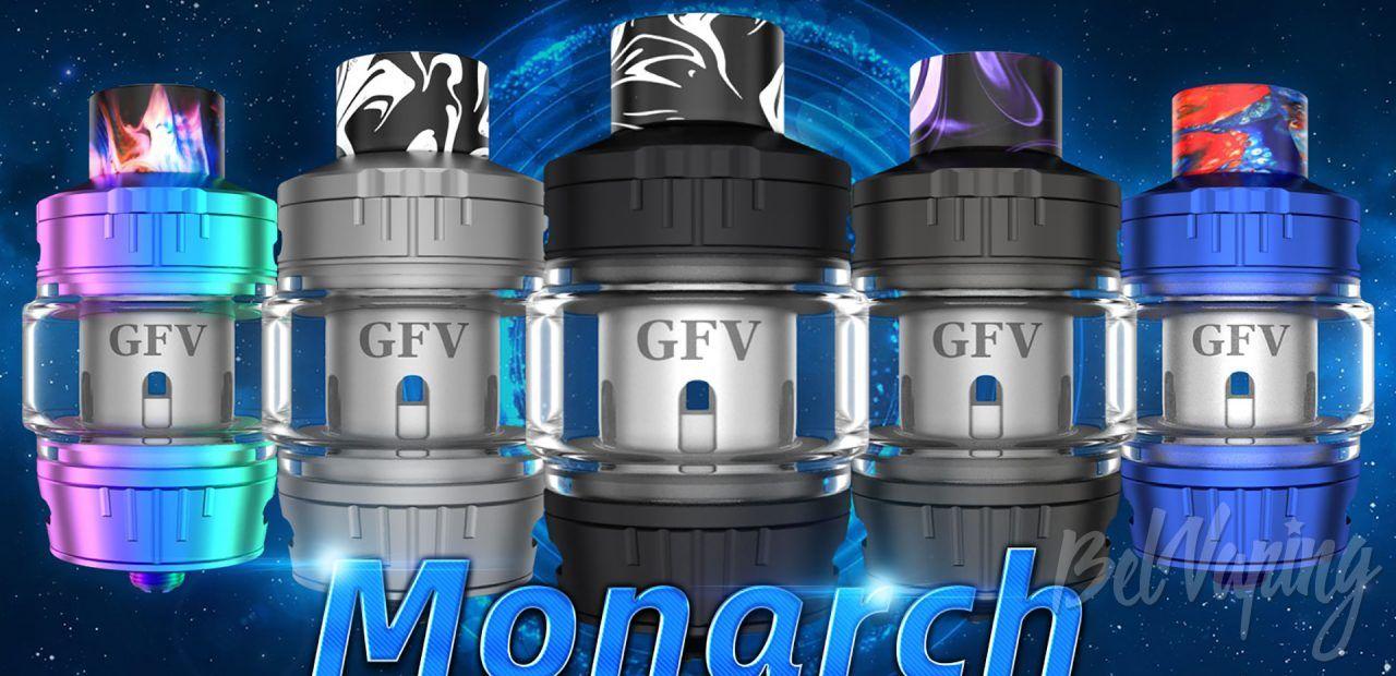 Goforvape Monarch Sub Ohm Tank. Первый взгляд