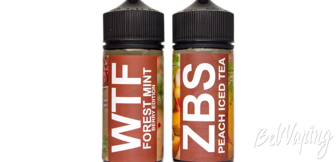 Обзор новых вкусов жидкостей ZBS и WTF от ChelLab