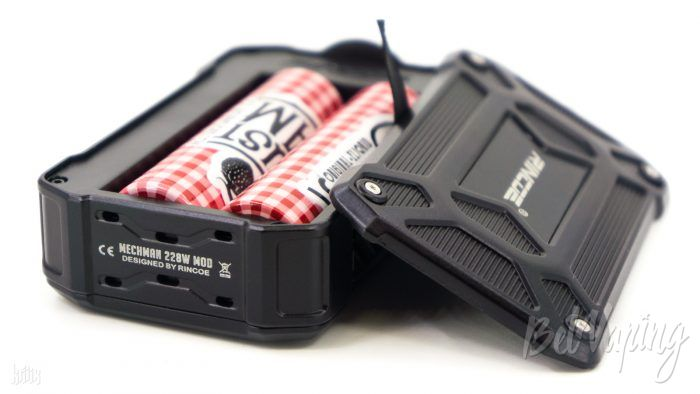 Аккумуляторы в Rincoe MECHMAN 228W Mod