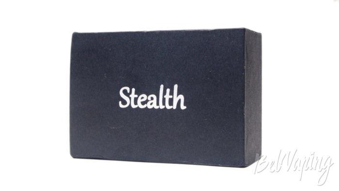 SXK STEALTH Style Box Mod - упаковка
