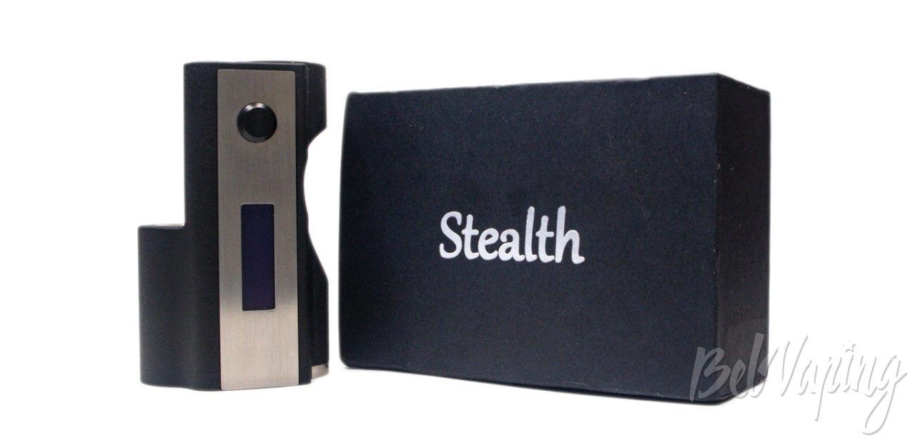 Обзор SXK STEALTH Style Box Mod