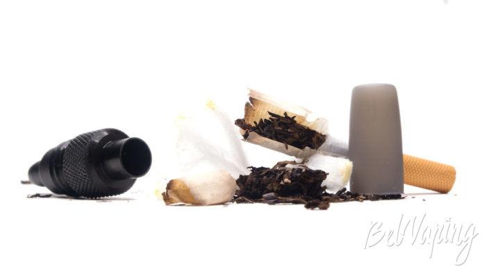 Система нагревания табака iUOK 3,0 - состояние табака и фильтра после нагревания