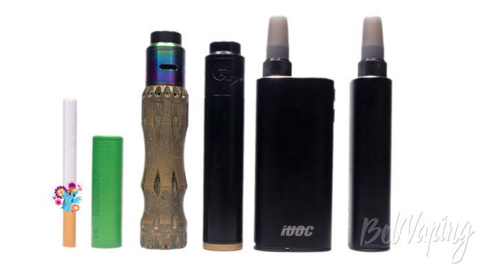 Система нагревания табака iUOK 3,0 - сравнение с другими устройствами