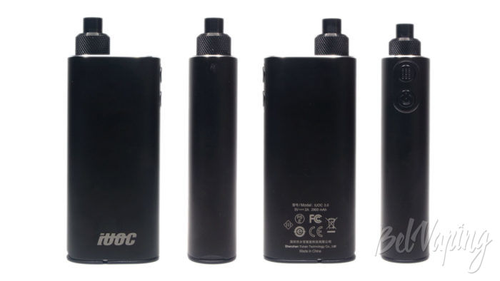 Система нагревания табака iUOK 3,0 - внешний вид