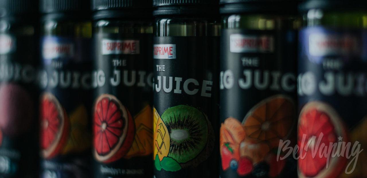 Обзор жидкости Big Juice от Suprime Juice