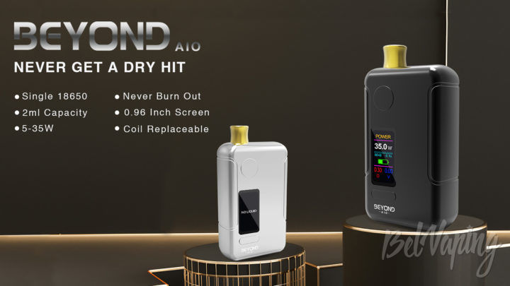 Wellon Beyond AIO Pod Kit. Первый взгляд