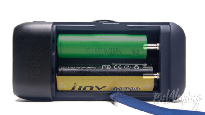 Зарядное устройство и пoвербанк Xtar PB2S - установка аккумуляторов
