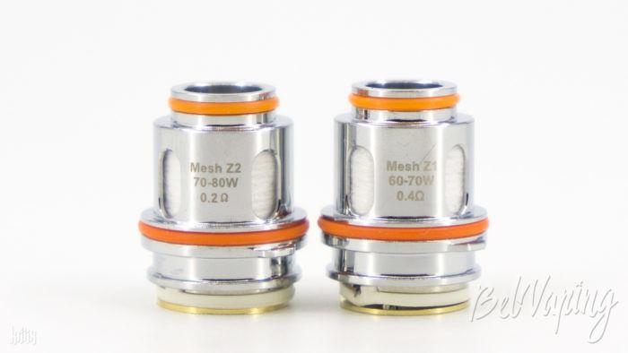 Испарители MeshZ1 и MeshZ2 для Zeus Sub-Ohm Tank