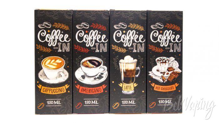 Жидкости COFFEE IN от Red Smokers