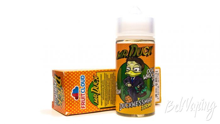 Жидкости MR.DUCK от FruitCloud - вкус DUCKNESSMAN