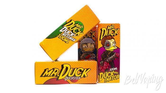 Жидкости MR.DUCK от FruitCloud