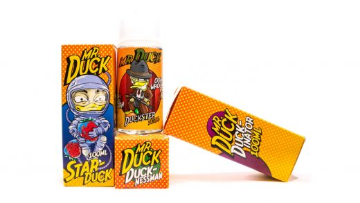 Жидкости MR. DUCK от Fruit Cloud