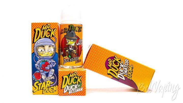 Обзор жидкостей MR. DUCK от FruitCloud