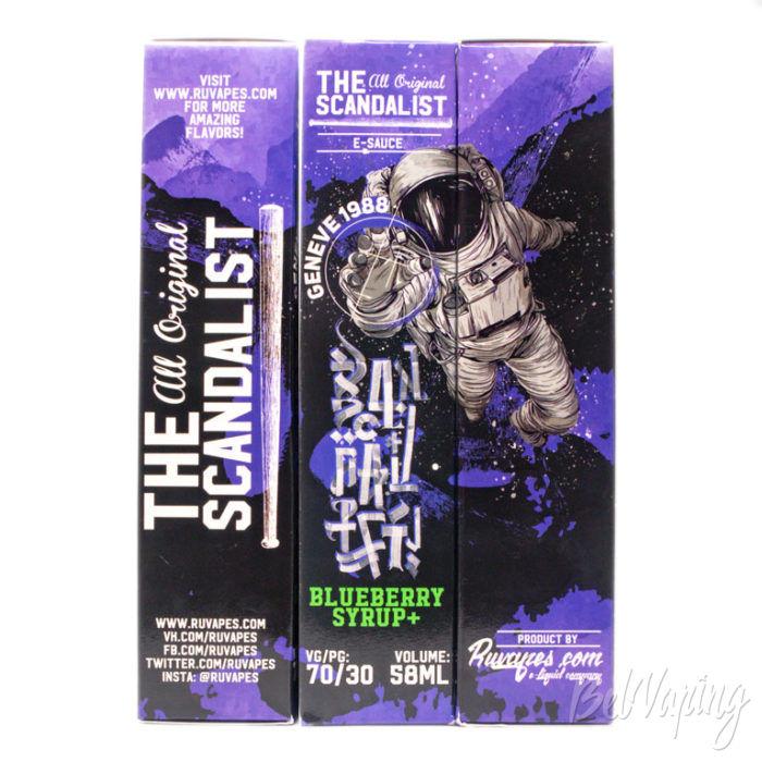 Жидкости The Scandalist. Обновление линейки - вкус GENEVE 1988