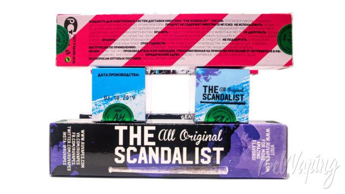 Жидкости The Scandalist - упаковка