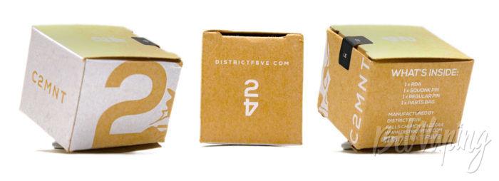 DistrictF5VE C2MNT RDA - упаковка