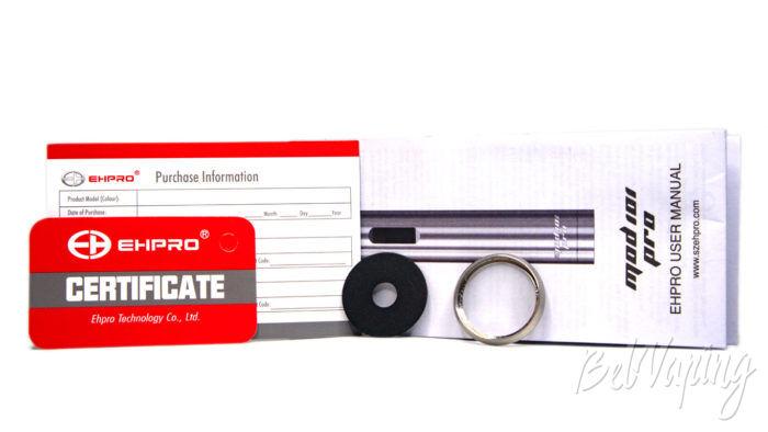Ehpro MOD 101 PRO - комплект поставки