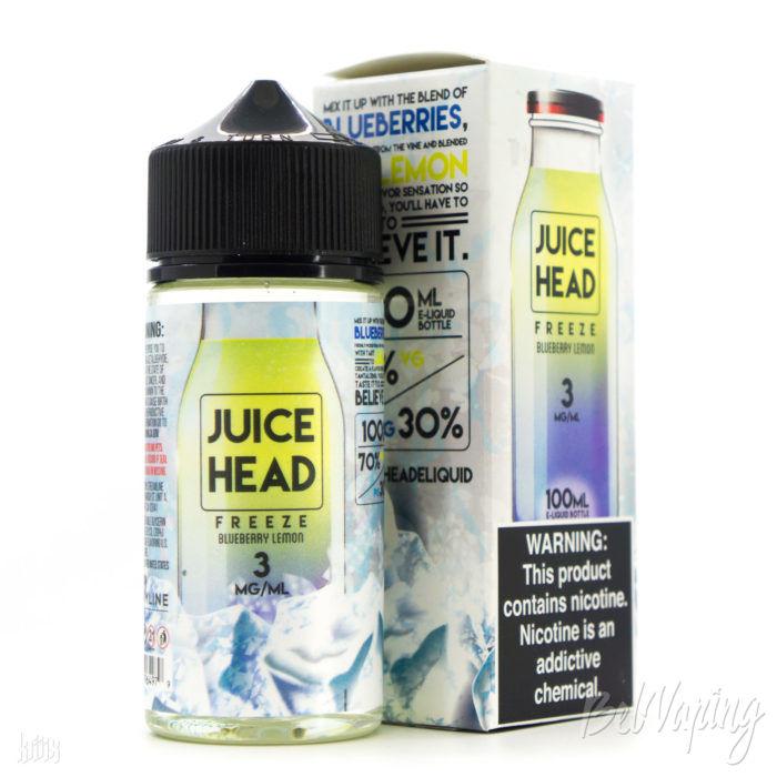 Жидкость Juice Head Freeze — Blueberry Lemon