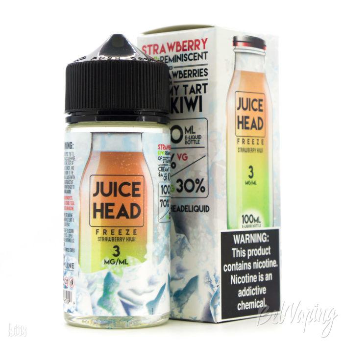 Жидкость Juice Head Freeze — Strawberry Kiwi