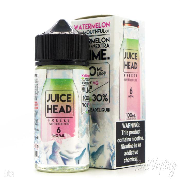 Жидкость Juice Head Freeze — Watermelon Lime