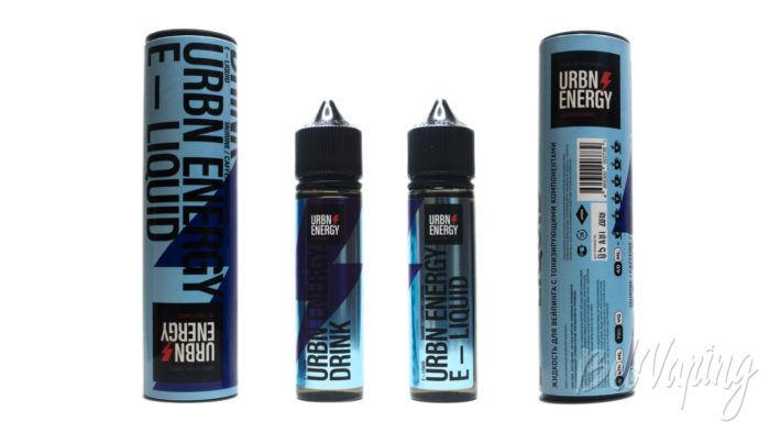 Набор жидкостей от PICK & VAPE - URBN ENERGY ENERGY DRINK