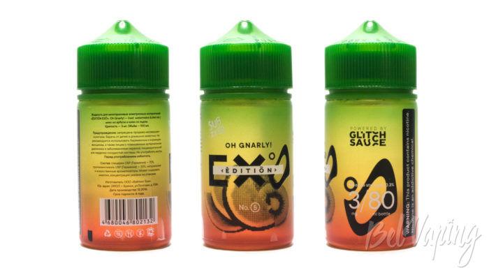 Набор жидкостей от PICK & VAPE - GLITH SAUSE EDITION EXO SUBZERO OH GNARLY