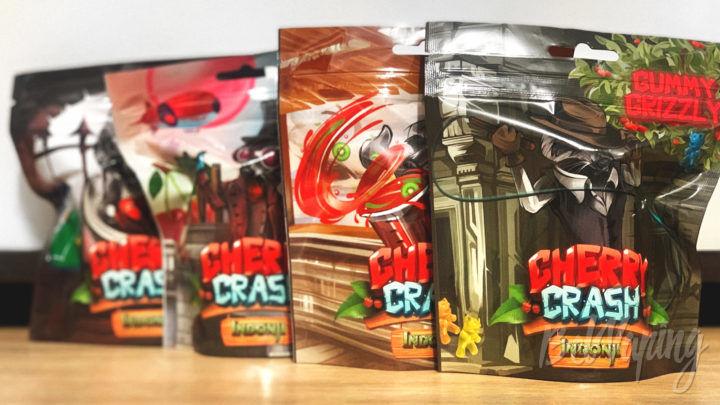 Обзор жидкости Cherry Crash от Ohm Girl