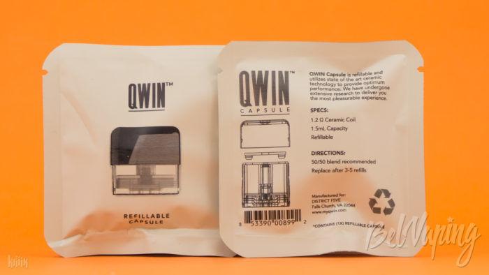 Упаковка QWIN Capsule