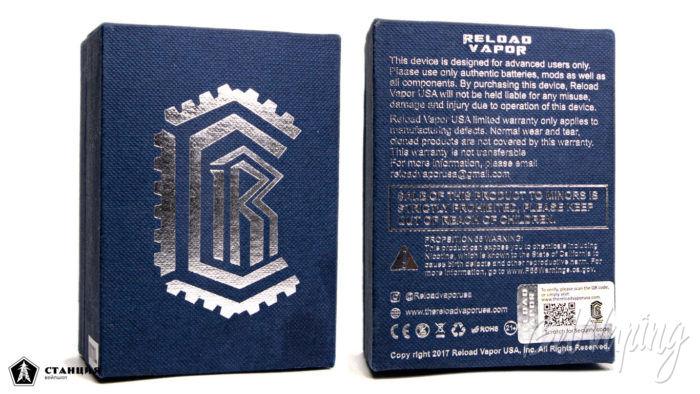 RELOAD MTL RTA - упаковка