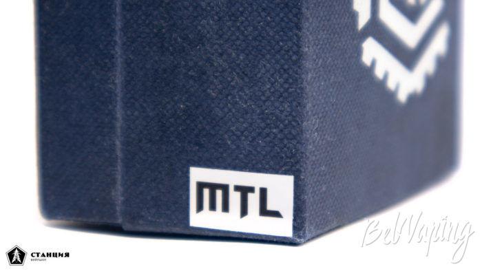 RELOAD MTL RTA - маркировка