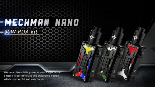 Rincoe Mechman Nano RDA Kit. Первый взгляд