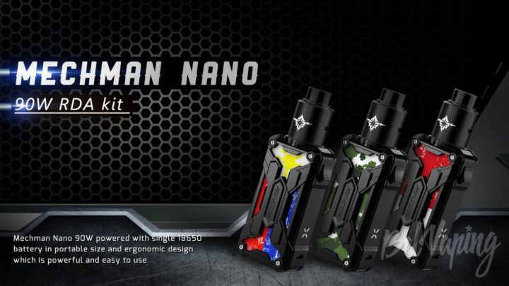 Rincoe Mechman Nano RDA Kit. Первый взгляд
