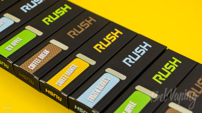 Вкусы Rush Disposable Starter Kit