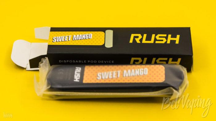 Упаковка Rush Disposable Starter Kit