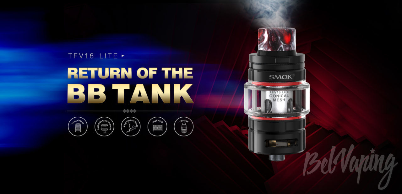 Smok TFV16 Lite Tank. Первый взгляд