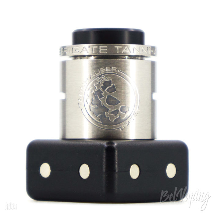 Внешний вид Tannhauser Gate RDA от Poisoned Blood