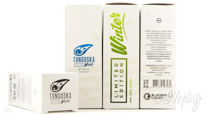 Упаковка жидкости Tunguska Winter
