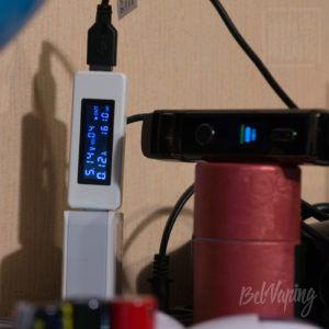 Емкость аккумулятора Voopoo Vinci Mod Pod
