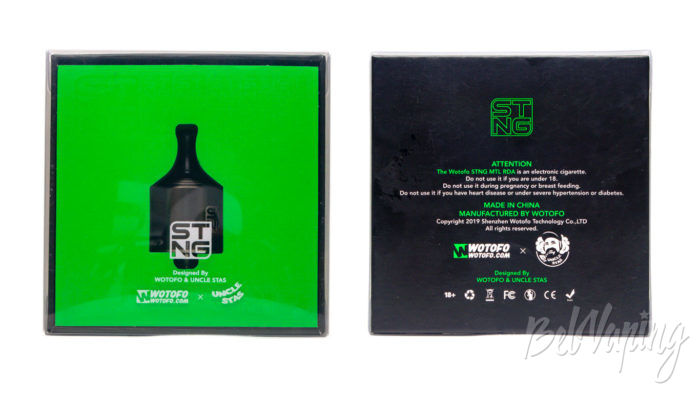 Wotofo STNG RDA - упаковка