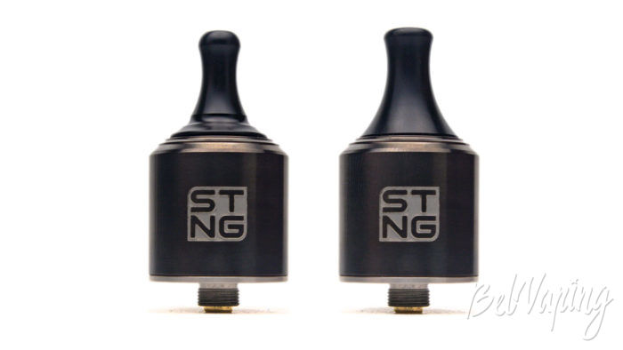 Wotofo STNG RDA - вид с разными дриптипами