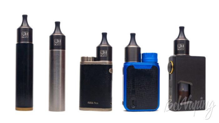 Wotofo STNG RDA на разных устройствах