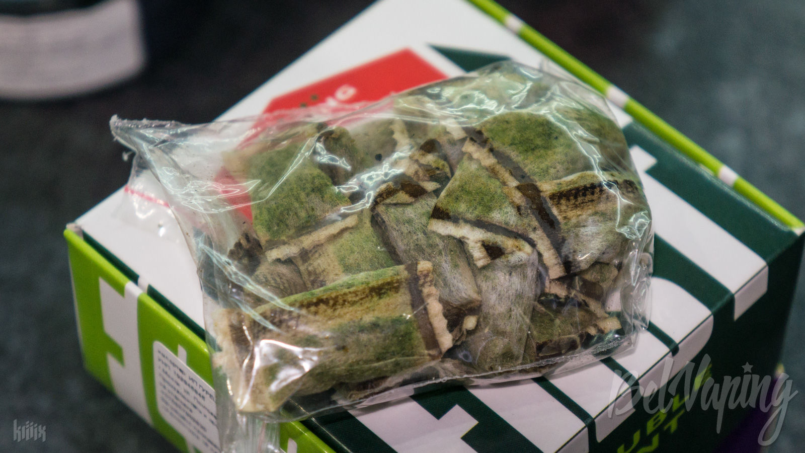 Жевательная смесь без табака в пакетиках